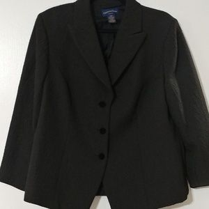 CHARTER CLUB WOMENS BLAZER